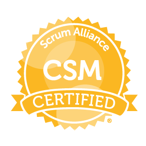 Scrum Master Certification logo