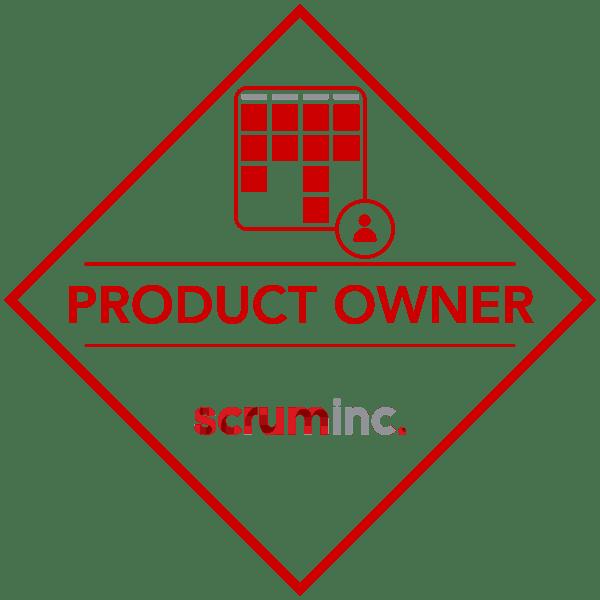 licensed scrum product owner logo