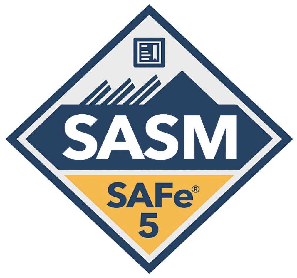 safe advanced scrum master logo