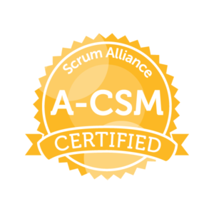 ADVANCED CERTIFIED SCRUM MASTER logo